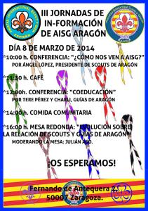 III Jornadas de In-Formación de AISG ARAGON